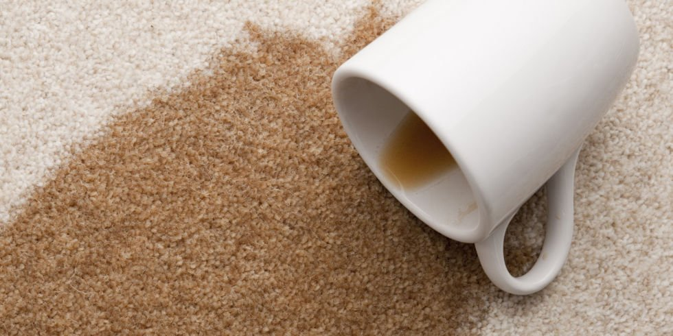 How to remove coffee stains from your carpets